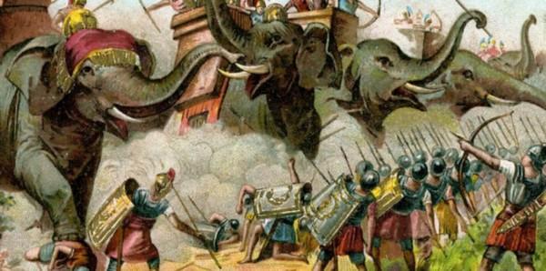 luptele lui Pirus cu romanii