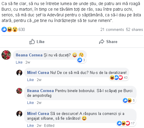 Mirel Curea despre Liviu Avram