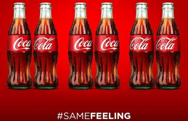 Coca Cola - #SAMEFEELING