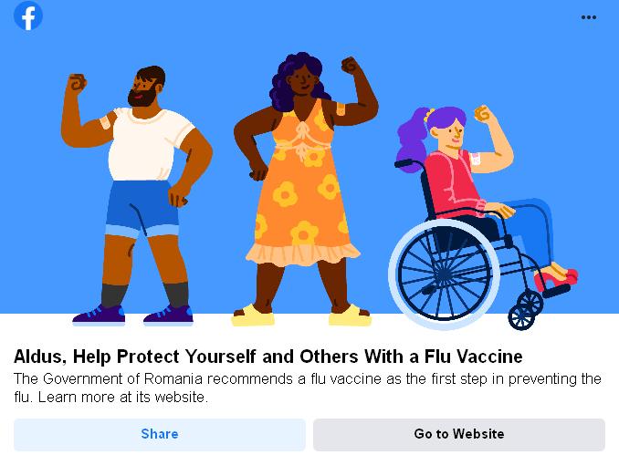 vaccin antigripal - facebook