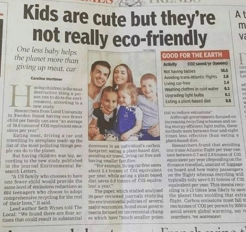 kids are not eco